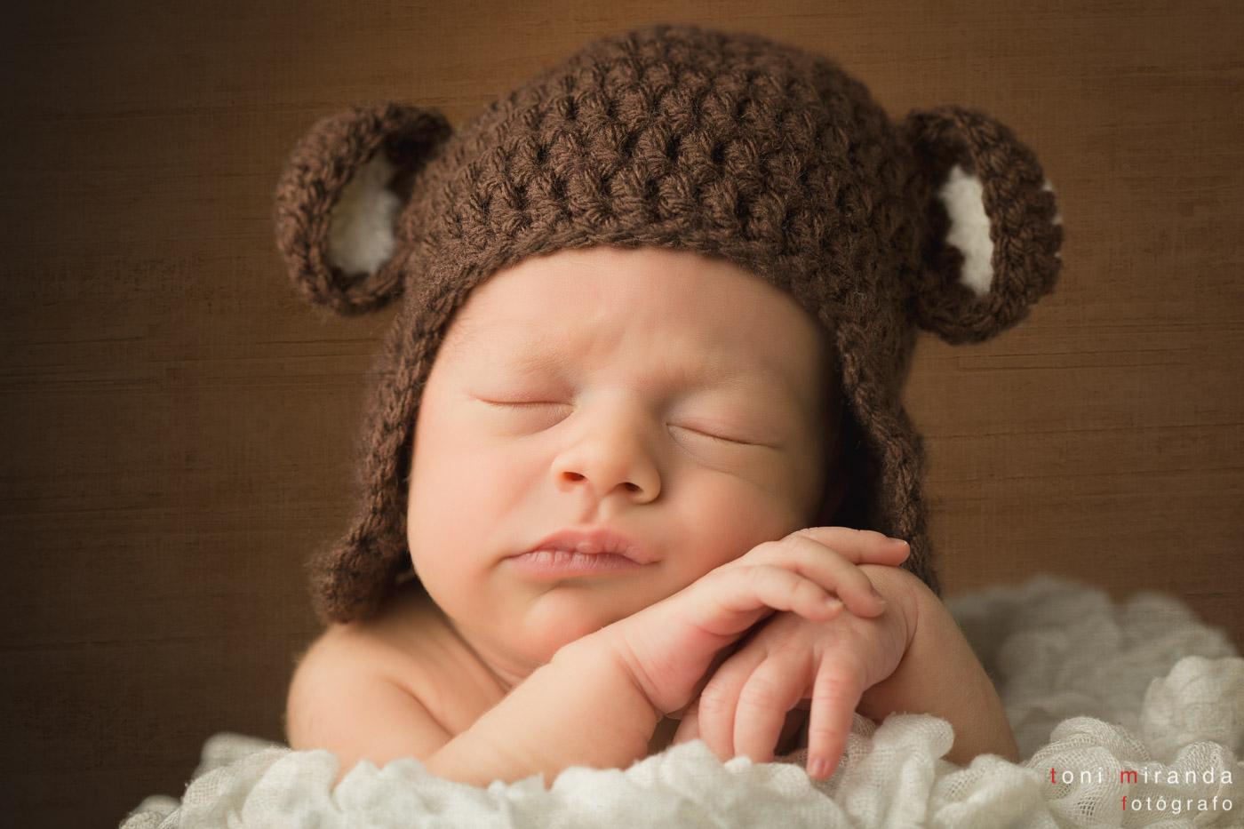 niño recién nacido en estudio Alcoy