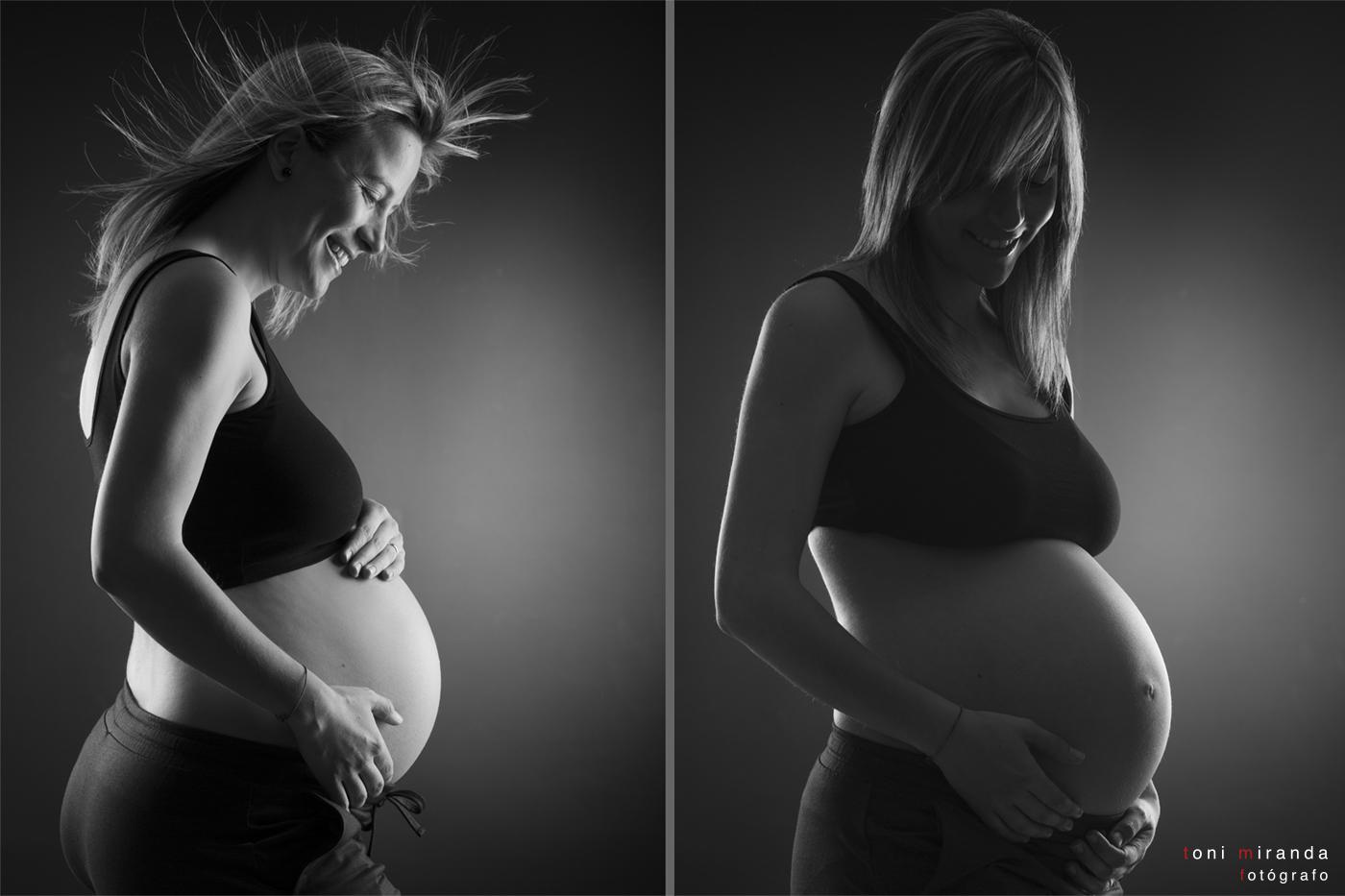 embarazada en estudio alcoy