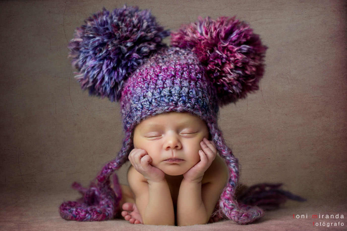 recién nacida con pocos dias