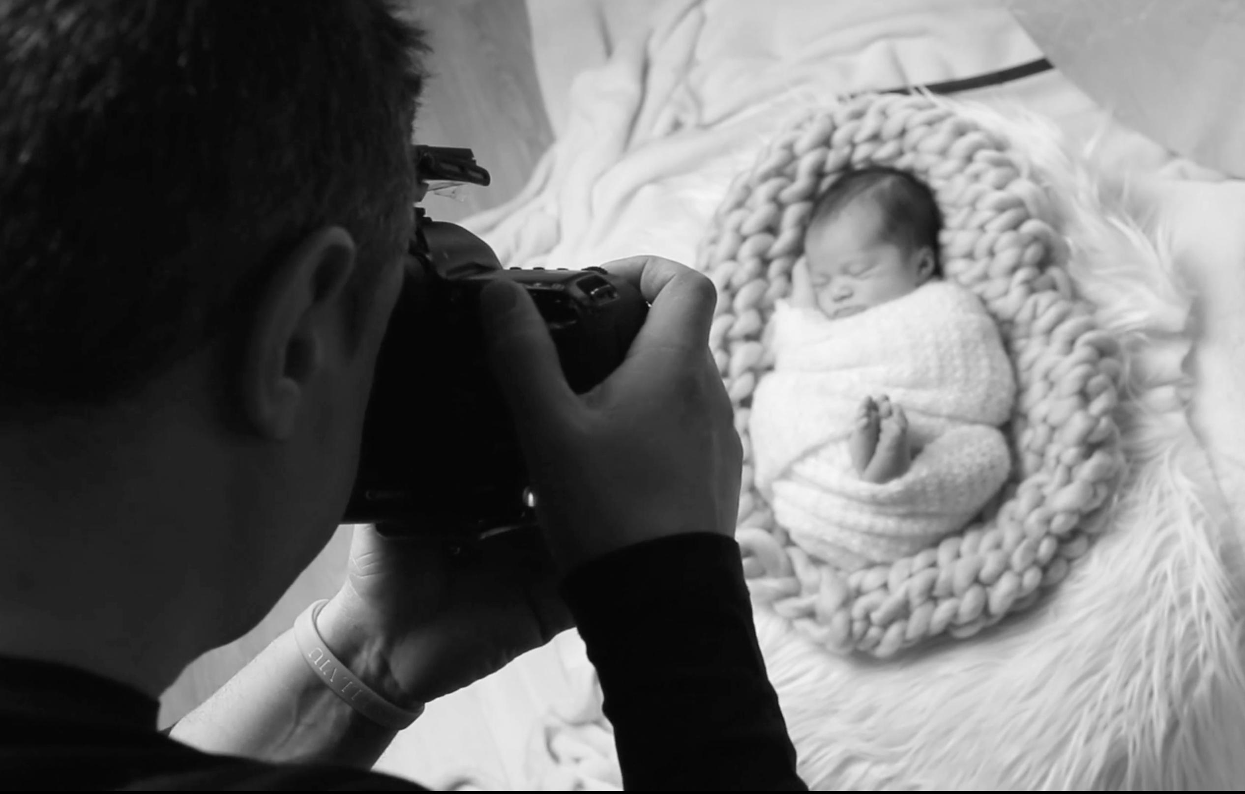 reportaje de newborn según making of
