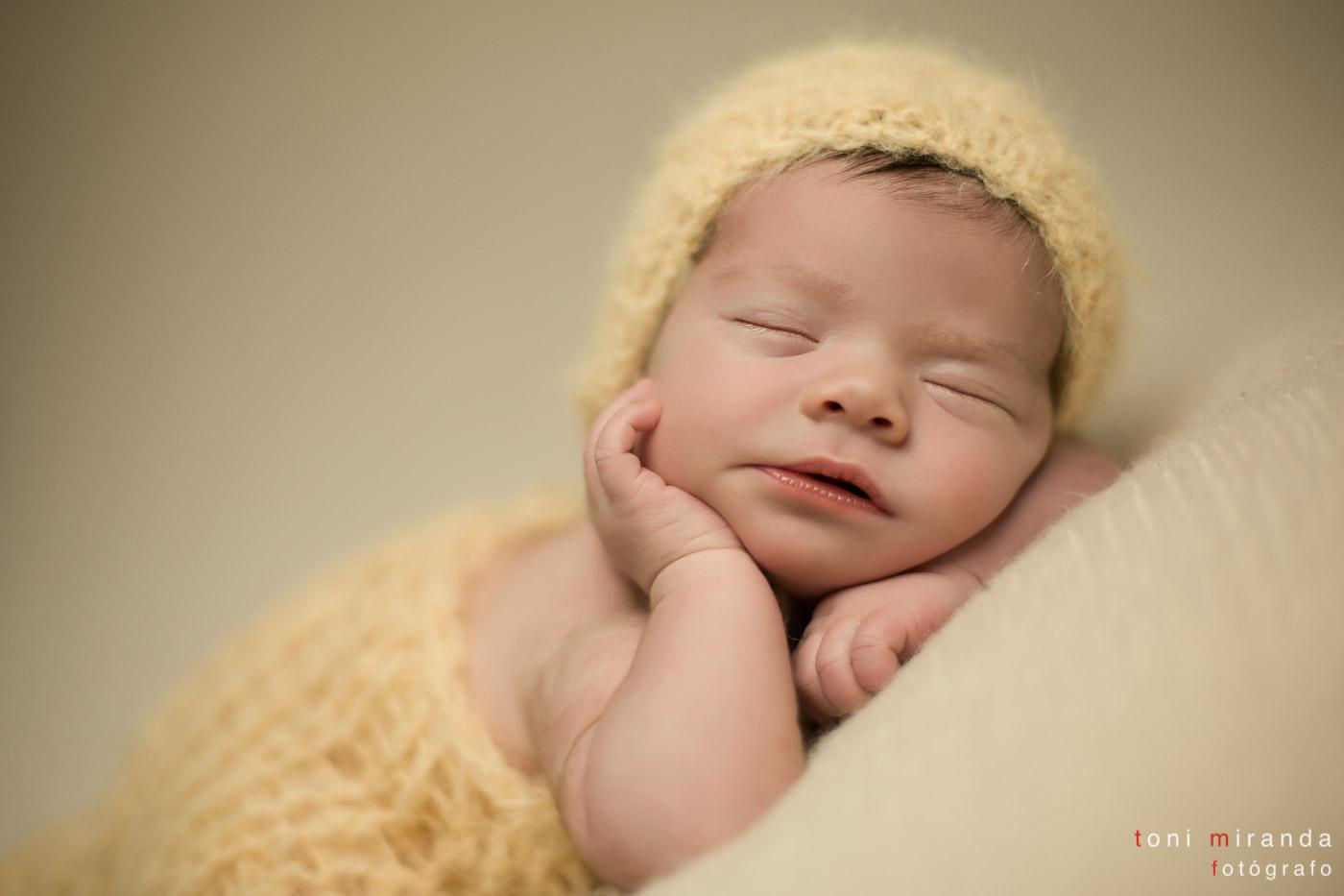 recién nacida estudio de fotografía de Alcoy