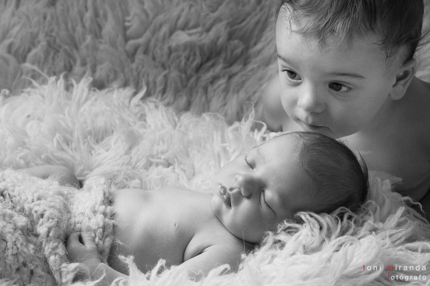 recien nacida con hermano