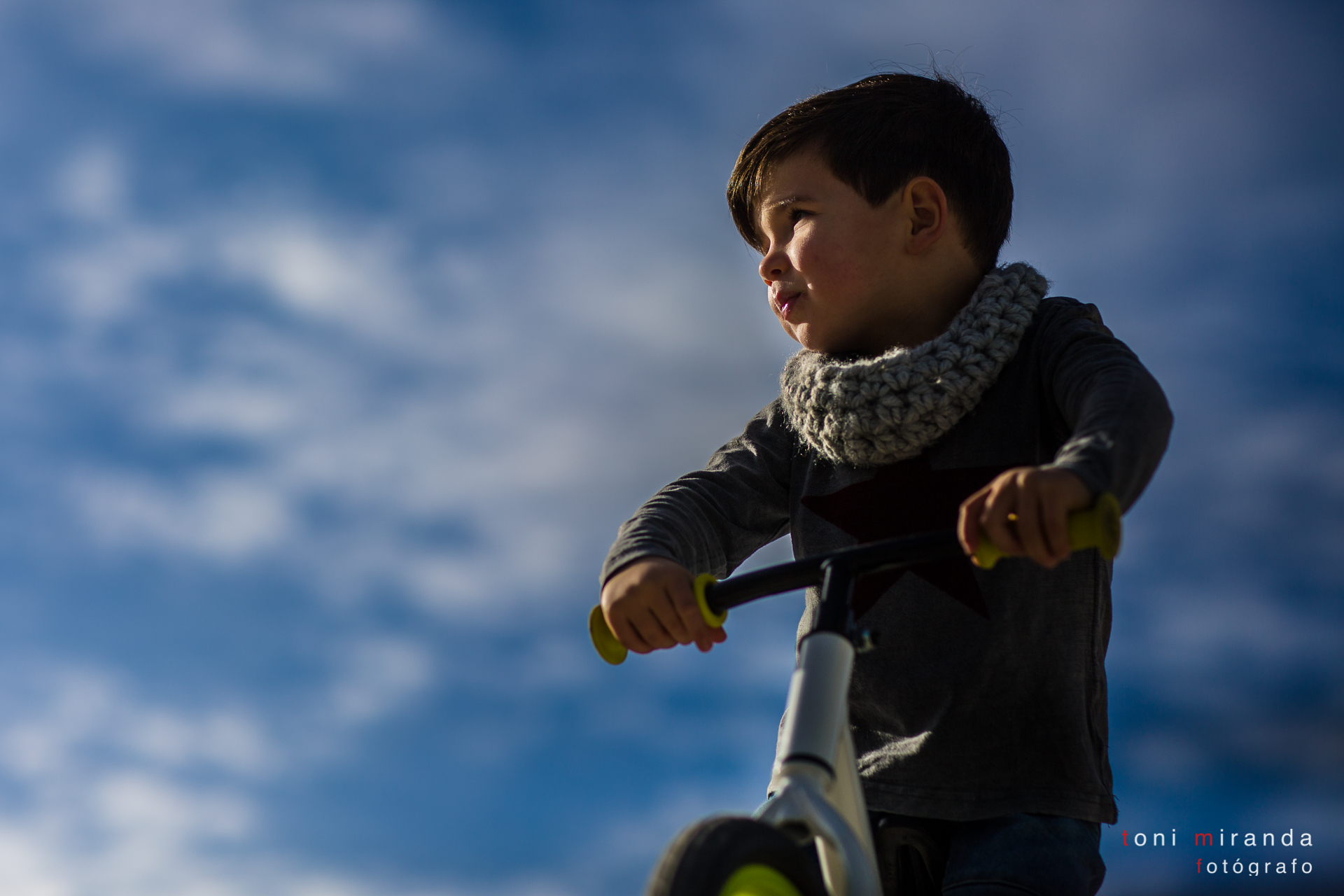 sesion infantil en alcoy con bicicleta