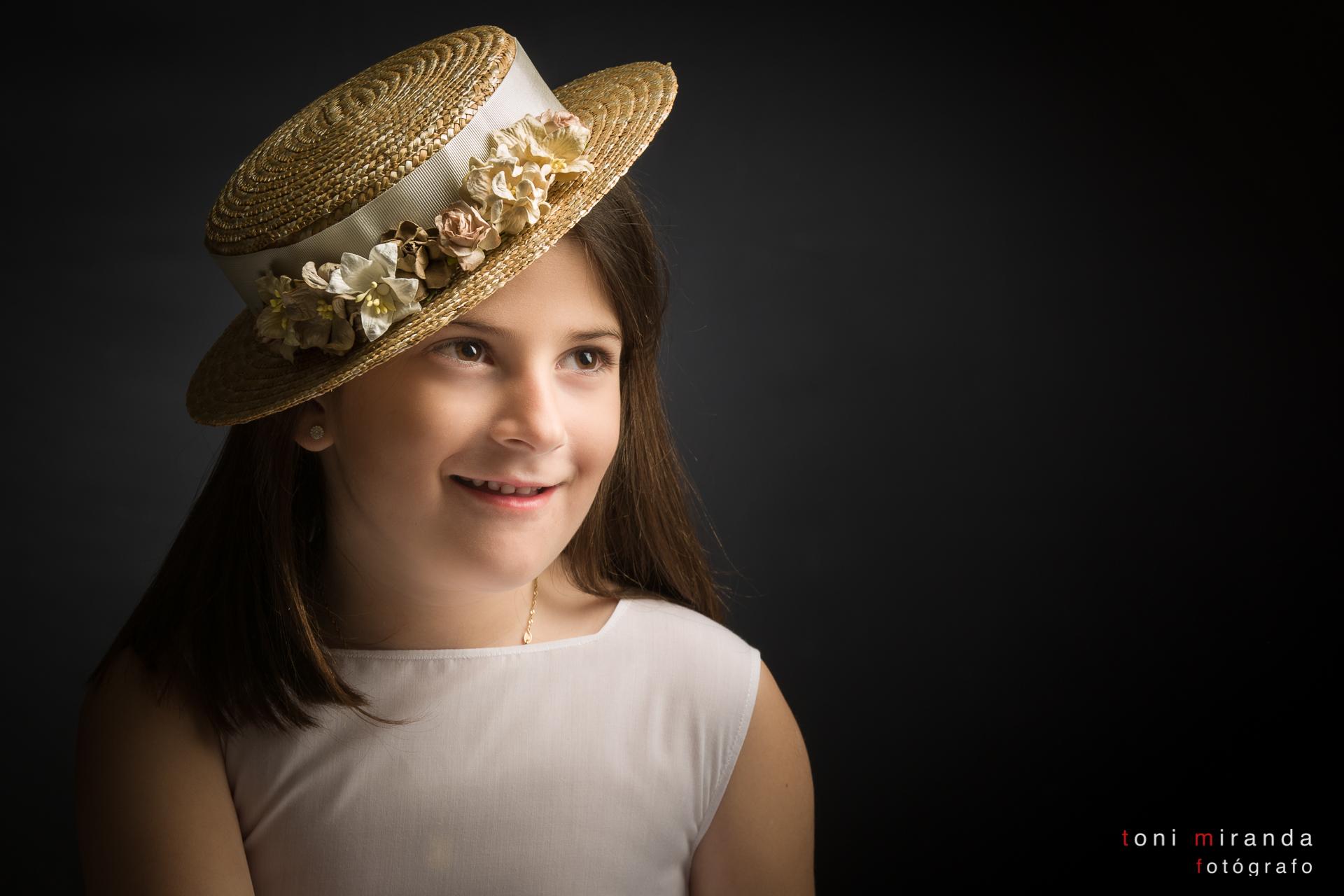 sombrero de comunion silvia soler