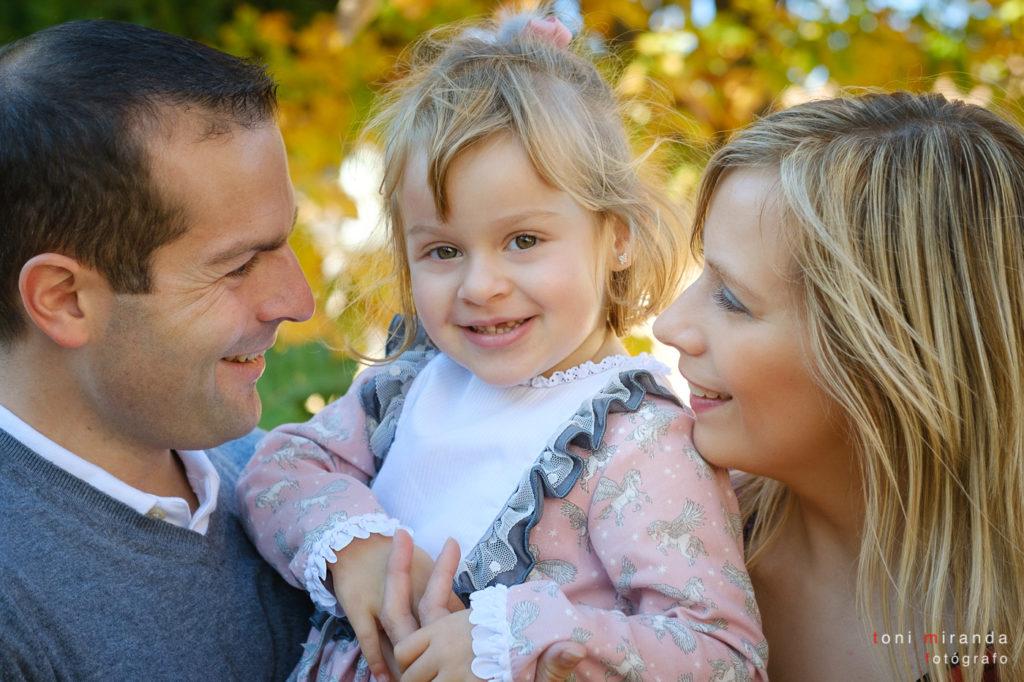Familia en sesion fotografica