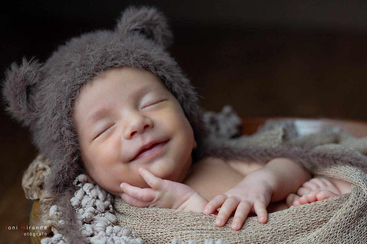 Fotografia de estudio recien nacido