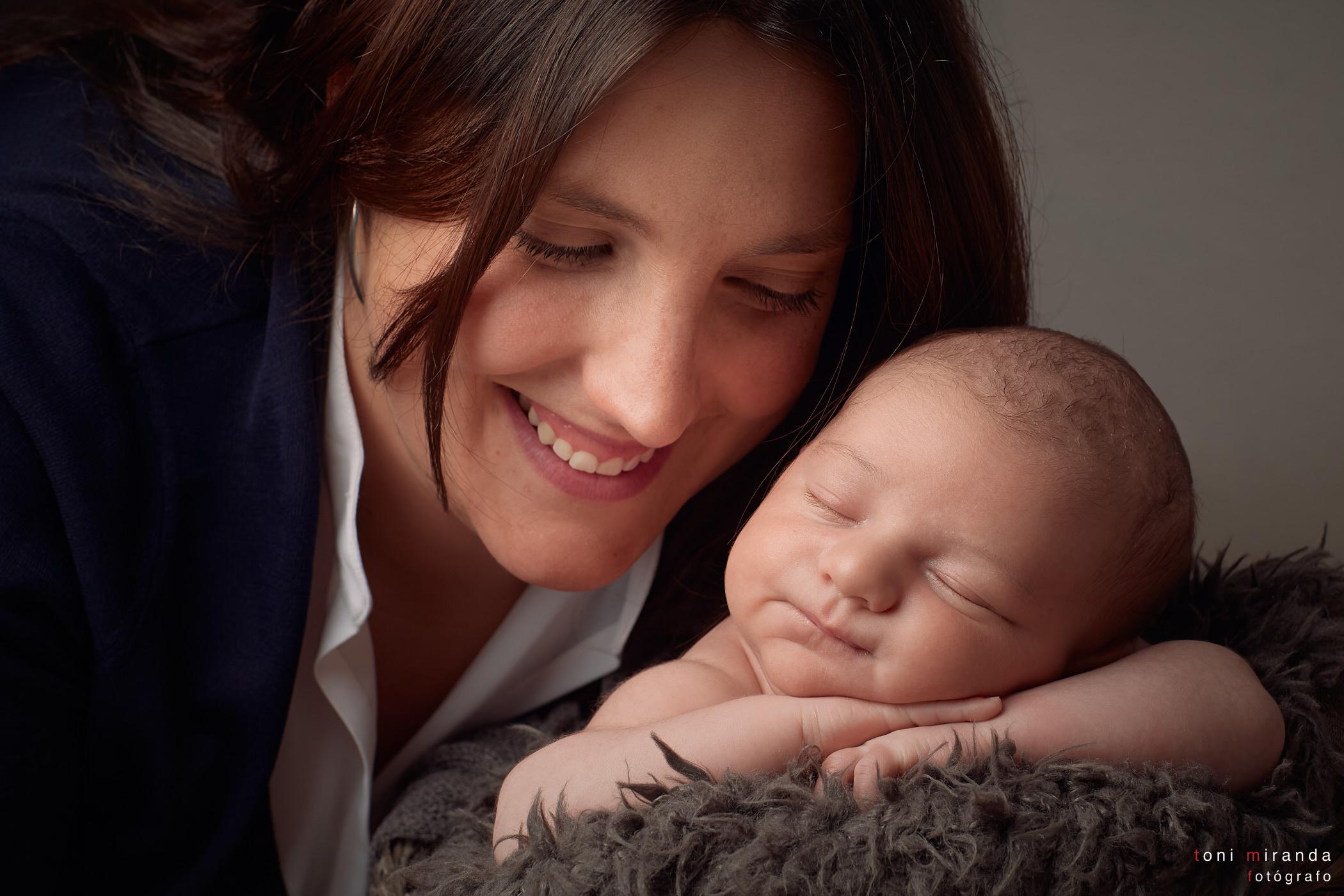 fotografia newborn en estudio alcoy